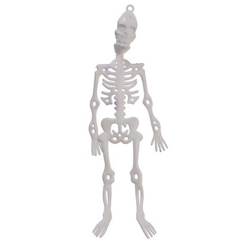 Декоративна підвіска Скелет, 24 див., 2 шт, фото 2