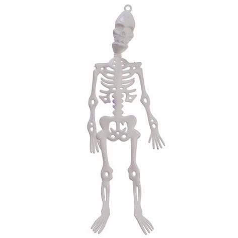 Декоративная подвеска Скелет, 24 см., 2 шт, фото 2