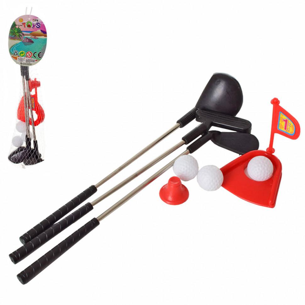 Ігровий набір Дитячий Гольф MR 0043 лунка, ключки металеві 27 см