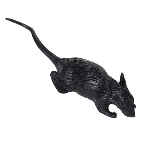 Набор крыс (черные, 6 шт)