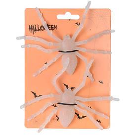 Набор пауков (белые, 2 шт)