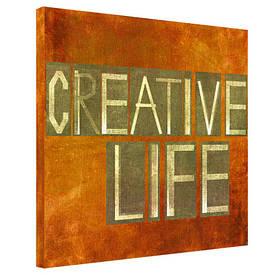 Картина на тканини, 65х65 см Creative life