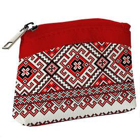 Дитячий гаманець KID Червоний орнамент