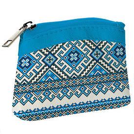 Дитячий гаманець KID Блакитний орнамент