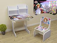 Детская парта растишка Парта со стулом Парта София
