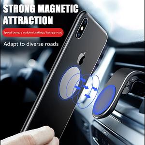 Автомобільний магнітний тримач для телефону Magnetic Car Holder L103