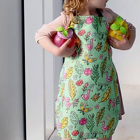 Фартух дитячий повнокольоровий Фламінго
