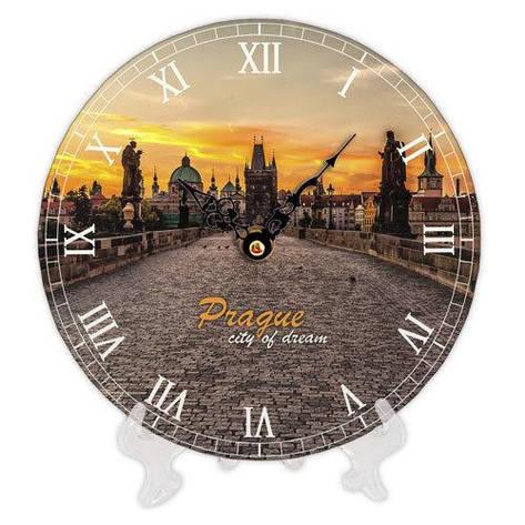Годинники настінні круглі, 18 см, фото 2