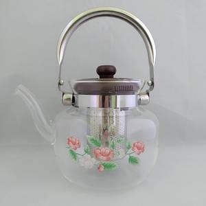 Скляний чайник-заварник А-Плюс TK-1045 1,2 літра