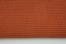 Мягкая Вафелька рыжая 160 см