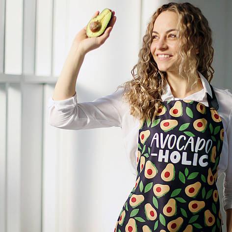 Фартук полноцветный Сolorful Avocado-holic, фото 2
