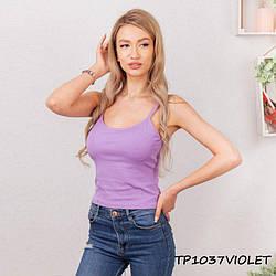 Жіночий топік бузковий TP1307violet | 1 шт.