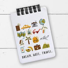 Блокнот на пружині Baby, A7 Dream. Note. Travel