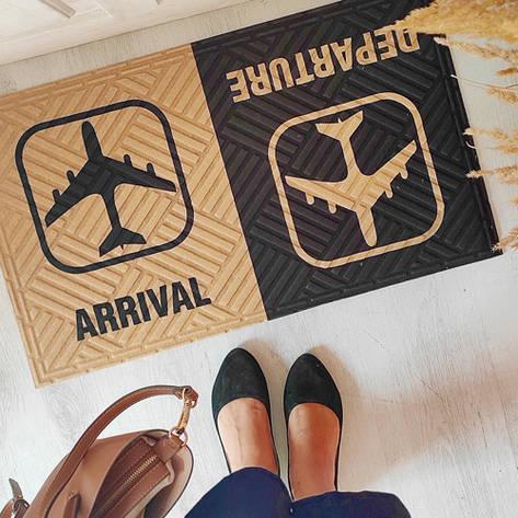 Придверні килимок з принтом Arrival Departure, фото 2