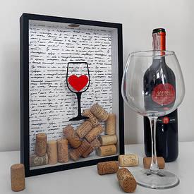 Скарбничка для винних пробок I like wine