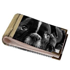 Візитниця для пластикових карт Сумна собачка