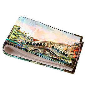 Візитниця для пластикових карт Венеція