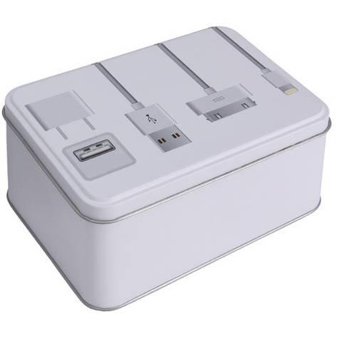 Коробка металлическая Apple, 141x101x73 мм, фото 2