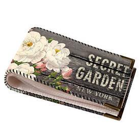 Візитниця для пластикових карт Secret garden