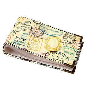 Візитниця для пластикових карт Друку мандрівника