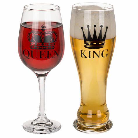 Набор бокалов Beer & Wine, фото 2