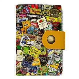 Кредитница на кнопке Пивные стикеры