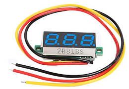 Цифровой вольтметр DC 0-100в (3 провода)