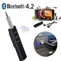 Автомобільний аудіо адаптер NBZ AUX Bluetooth BT-450 ресивер