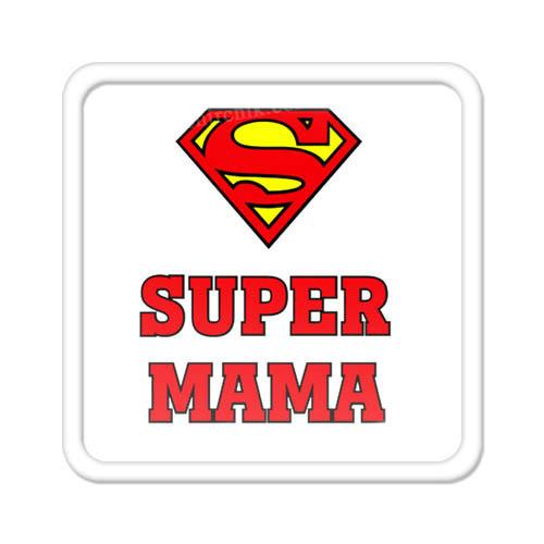 Магнит на холодильник Super мама
