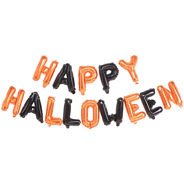 Гирлянда из воздушных шаров Halloween