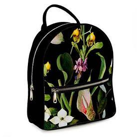 Міський жіночий рюкзак Тропічні квіти