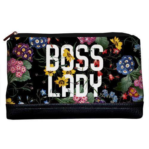 Косметичка дорожная женская Lovely Boss lady