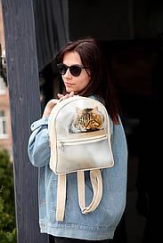 Міський жіночий рюкзак Кіт