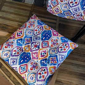 Подушка на стул с завязками Etno ornament