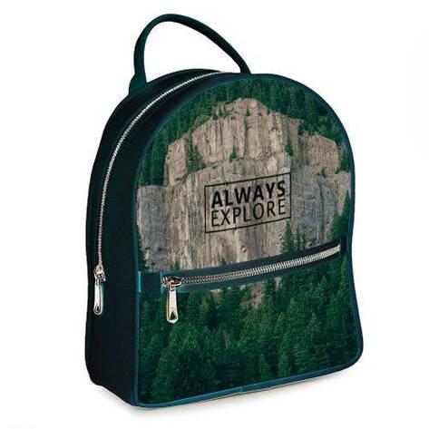 Міський жіночий рюкзак Always explore, фото 2
