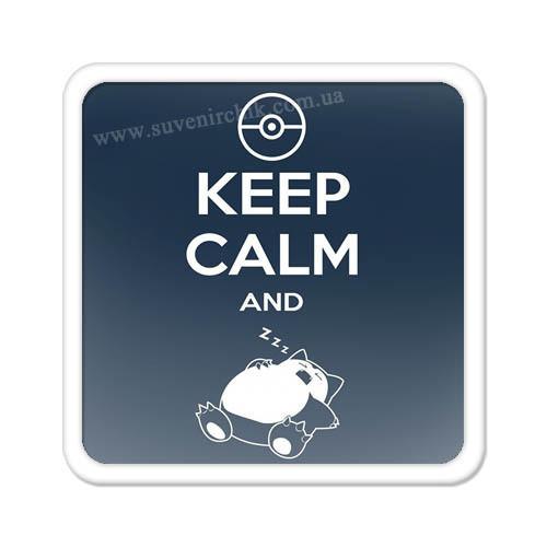Магнит на холодильник Keep calm