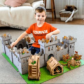 Игрушечный детский замок-конструктор MAXI-3 Nestwood