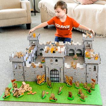 Игрушечный детский замок-конструктор MAXI-2 Nestwood