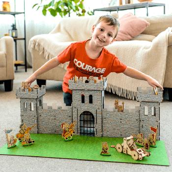 Игрушечный детский замок-конструктор MAXI-1 Nestwood