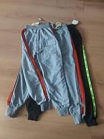 """Спортивні штани підліткові з лампасами на хлопчика 6-10 років (2 кольори) """"WHITE"""" купити оптом в Одесі на 7 км"""