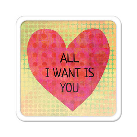 Магніт на холодильник All I want is you, фото 2