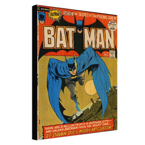Картина на тканини, 45х65 см Bat man