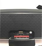 Портативна колонка Hopestar A21, стерео колонка Bluetooth c пило-вологозахистом, бездротова Червона, фото 8