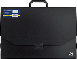 Портфель пластиковый Buromax PROFESSIONAL черный BM.3725-01