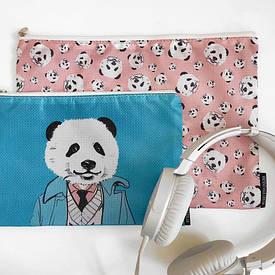 Комплект косметичек Double (2 шт) Pandaman
