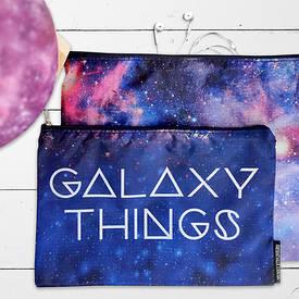 Комплект косметичек Double (2 шт) Galaxy things