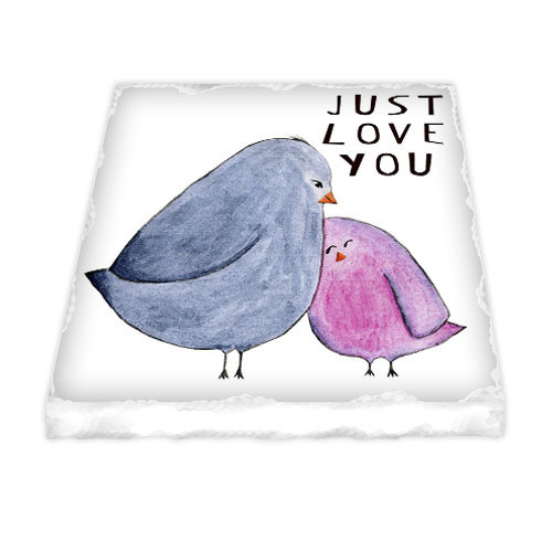 Магнит керамический Just love you