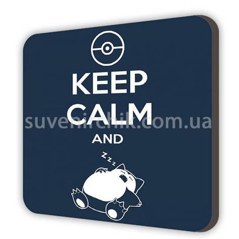 Магнит сувенирный Keep calm, фото 2