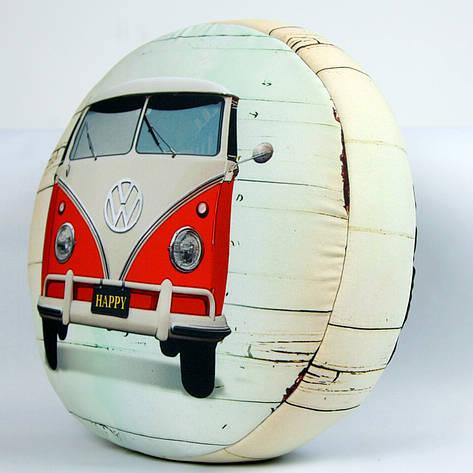 Подушка кругла Volkswagen, фото 2