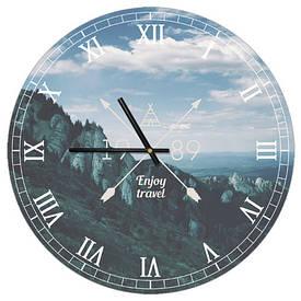 Часы настенные круглые, 36 см Enjoy travel